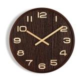 10 ``木製装飾壁時計