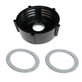 Blender Jar Base + 2Pcs Rubber O-Ring Gaskets
