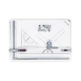 A3製図テーブルの描画ボード、描画ツールセット、平行動作のグラフィック建築スケッチボード
