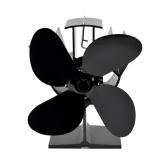 4ブレード熱駆動ストーブファン熱力学暖炉ファン