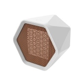 Space Heater Mini Desk Heater 600W Hexagonal Personal Mini Heater