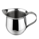 Jarra de espuma de leche de acero inoxidable Jarras de vapor de café con leche de 150 ml