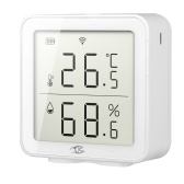 Tuya Wireless Fidelity Intelligent Home Temperature And Humidity Detector