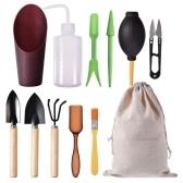 Набор инструментов для посадки мини-сада из 12 предметов