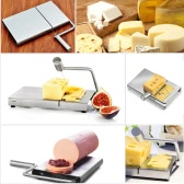 Stainless Steel Cheese Slicer Butter Cake Cutting Knife Kitchen Cooking Tool