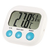 ° C / ° F Indoor Mini Digital Feuchtigkeit Meter Thermometer Hygrometer maximale Mindestwert Temperaturanzeige