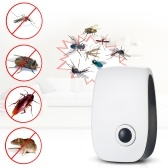 Non toxique moustique fourmis électronique Repeller ultrasons Pest Spiders blattes Repelling AC90V-250V