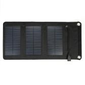 5V Открытый складной монокристаллический кремниевый солнечный заряжатель панели Портативное заряжатель USB для электропитания мобильного телефона