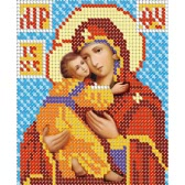 10 * 12 дюймов / 26 * 30 см DIY Hierarch 5D Diamond Painting Kit Религия Стиль Кристалл Rhinestone Мозаика Вышивка Крест Stitch Craft Home Wall Decor