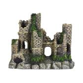 Nachahmung Antiken Schloss Rock Verstecken Höhle Landschaft Aquarium Dekoration Dekorative Ornament Umweltfreundliche Harz