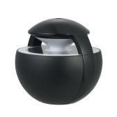450 ml Mini USB Ultradźwiękowy Mist Nawilżacz Powietrza Dyfuzor Mist Maker z funkcją rozrządu Kolorowe Night Light dla domu Car Office - czarny
