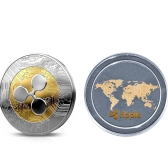 Collectible Ripple Coin Commemorative Round Collectors Coins