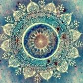 10 * 10 cali / 25 * 25 cm DIY 5D Diament Malarstwo Kit Kwiat Żywica Rhinestone Mozaiki Haft Cross Stitch Craft Home Dekoracje Ścienne