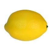 Realistische Gefälschte Gelbe Zitrone Künstliche Lebensechte Obst Haus Küche Dekorationen Fotografie Requisiten