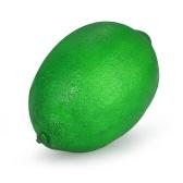 Реалистичный поддельный зеленый лимонный искусственный лифтевидный фруктовый дом