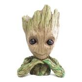 Стражи Галактики Baby Groot Действие Рисунок Цветочный горшок 14см