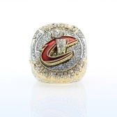 2016 Cleveland Cavaliers Championship Memorable Ring Fine-quality Elegante Europa y América Hombres / Mujeres Ring Souvenir Honor NBA 21.4mm