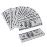 100PCS notas de banco de notas de dólar nota de lenda comemorativa