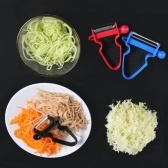 Magic Trio Peeler - Peel Anything In Seconds With The Amazing 3pc Peeler Set