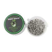50 Pieces Vapor Storm A1 Heating Wire Coil RDA Coil Quad Coils Prebuilt Wrap Wires Alien Mix Twisted