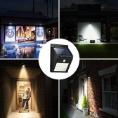 Sensor de movimiento con luz solar de pared de 20 LED