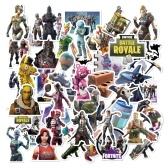 50pcs Fortress Night PVP Games Graffiti-art Sticker Adhesión fuerte pegatinas