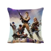 Fortnite Game Animation Peripheral Doux Carré Taie D