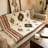 Style ethnique pratique tapis géométrique créatif