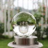 Esfera de cristal curativa de la bola de cristal de cristal artificial
