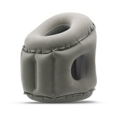 Travel Pillow Inflatable Pillows Air Soft Cushion --Mouth Blow Type