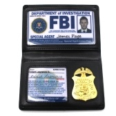 FBI Cosplay Collection Police Card Holder