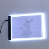 Lavagna da disegno ultra sottile con LED Light Box
