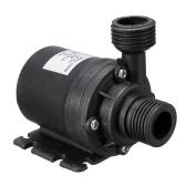 Ультра тихий мини-погружной водяной насос постоянного тока 12 В с подъемником 5 м 800 л / ч Бесщеточный двигатель