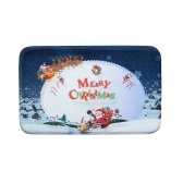 Christmas Carpet Mat Bath Rug Cute