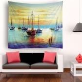 Tapisserie Tenture murale Tapisseries Paysage de bord de mer Tapisserie Décoration murale