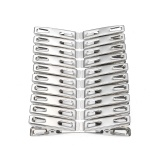 20 Pcs Clothespins Stainless Steel Clothes Clips