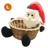 Boîte de bonbons panier de rangement de Noël