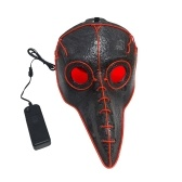 Animal Doctor Cold Red Light Plague Bird Beak Mask