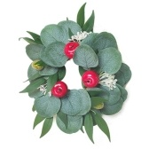 Artificial Wreath Garland Natural Artificial Plants