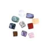 10pcs cristal naturel pierre gemme quartz pierre spécimen minéral guérison reiki grande taille Home Decor