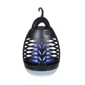 Lámpara recargable USB para matar mosquitos IPX6 Repelente de insectos volador resistente al agua Repelente de insectos voladores