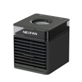 NexFan Portable Air Cooler 3 Speeds USB Air Conditioner 7 LEDs Light(without UV Function)