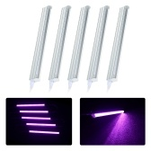 5-Pack LED Grow Light Strips 5W T5 Tube LED for Plants High Output Integrated Fixture Extendable 24 Inches Grow Lights for Greenhouse Plant Grow Shelf(AU Plug)