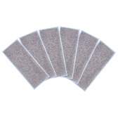 Paquete de 6 almohadillas para fregar en seco lavables