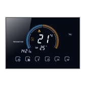 95-240V Programmable Thermostat 5+1+1 Six Periods Touchscreen LCD