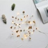 6.56ft 20LEDs Christmas Fairy String Lights Halloween Decorative Hanging Lights