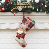 Bolsa de regalo de calcetines de Navidad creativos de estilo nuevo de Navidad