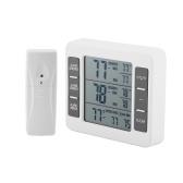 Беспроводной цифровой термометр для холодильника Звуковая сигнализация Внутренний наружный термометр