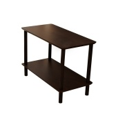2-Tier End Table Coffee Side Table Nightstand 40*30*42cm