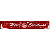 9.84ft Frohe Weihnachten Banner Hanging Christmas Decor